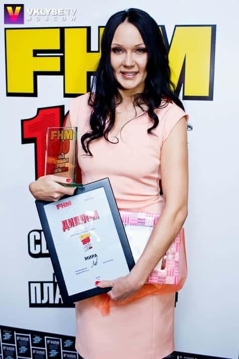 """Мира получила премию """"Топ 100 Sexy"""" по версии журнала FHM"""
